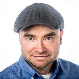 Portretfoto van filmmaker Frank Hesselink